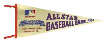 "1969 100th All Star Game 29"" Pennant"