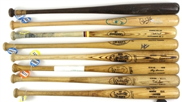 1970's – 2000's Professional Model Game Used bat Collection Lot of 15 w/ Danny Tartabull, Dick Davis, Terry Francona, Jim Leyritz, Pat Tabler, Mike Easler, David Segui and more (MEARS LOA)
