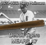 1921-1930 Harry Heilmann Detroit Tigers H&B Louisville Slugger Professional Model Game Used Bat (MEARS A7)