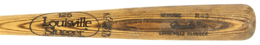 1980-82 Johnny Bench Louisville Slugger Store Model Bat (MEARS LOA )