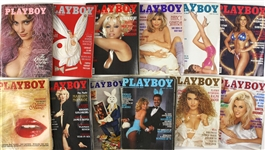 1970s - 1990s Playboy Magazines (Lot of 60+)