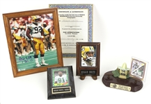 1990s Reggie White Football Cards and Secretarial Signed 8x10 Photo and more (Lot of 17)