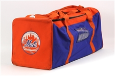 1980s New York Mets Game Used Equipment Bag