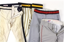 1990s Game Worn Baseball Pants (Lot of 4)