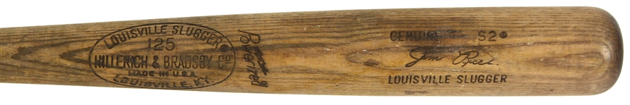 1977-1979 Jim Rice Boston Red Sox H&B Louisville Slugger Professional Model Bat (MEARS LOA)