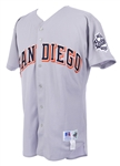 1999 Rob Picciolo San Diego Padres Autographed Game Worn Jersey (MEARS LOA/JSA)