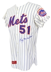 1974 Roy McMillan New York Mets Autographed Game Worn Jersey (MEARS LOA/JSA)