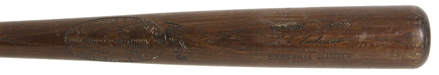 1977-79 Ken Landreaux Angels/Twins H&B Louisville Slugger Professional Model Game Used Bat (MEARS LOA)
