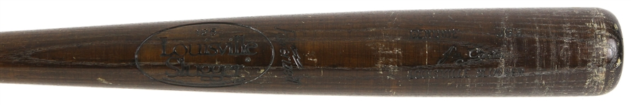 1983-85 Joe Carter Cubs/Indians Louisville Slugger Professional Model Bat (MEARS LOA)