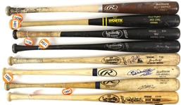 1980s-2000s Professional Model Game Used Bat Collection - Lot of 23 w/ Jose Cruz, Delino DeShields, Kevin McReynolds, Doug Drabek & More (MEARS LOA)