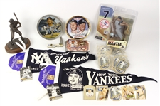 Mickey Mantle New York Yankees Memorabilia Collection (Lot of 46)
