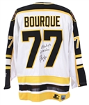 1990s Ray Bourque Boston Bruins Signed Jersey (JSA)