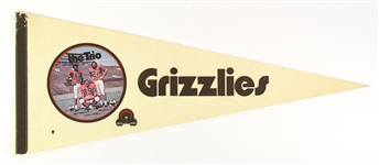 "Grizzlies 30"" Football Pennant"