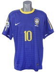 2010 Kaka Brazil National Soccer Team World Cup Jersey (MEARS LOA)
