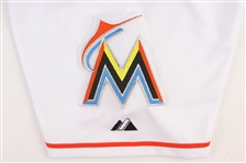 6a350e868 2015 Giancarlo Stanton Miami Marlins Game Worn Home Jersey (MEARS A10).  Touch to zoom. Previous
