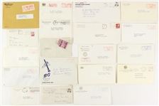 1969-1978 Various Addressed Envelopes From Many Places Including State of New York Executive Chamber, Billy Graham, Dr. Zhigniew Brzezinski, and More ( Lot of 19)