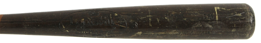 1980-83 Hubie Brooks New York Mets Louisville Slugger Professional Model Game Used Bat (MEARS LOA)