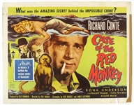 "1955 The Case of the Red Monkey 22""x 28"" Movie Poster"