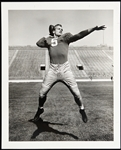 "1957-1966 Paul Hornung Green Bay Packers Notre Dame 8""x 10"" B&W Photo"