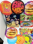 1980s-1990s Fast Food Display Items (Lot of 75+)