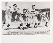 "1959 Pro Bowl Game Original 8""x 10"" Photo Including Doug Atkins, Fred Williams and more"