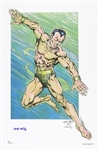 1960s  Jack Katz Silver Age Style Submariner Signed 11x17 Color Print (JSA)