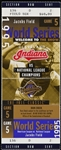 1995 Cleveland Indians vs. National League Champions World Series Game 5 Ticket