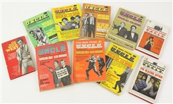 1966 The Man from U.N.C.L.E. Magazines and more (Lot of 10)