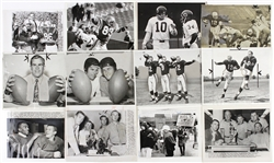 "1960s-1980s Football 8""x 10"" B&W Original Type 1 Photos (Lot of 250+)"