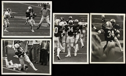 "1982-1986 Bo Jackson Auburn University 5""x 7"" B&W Photos (Lot of 4)"