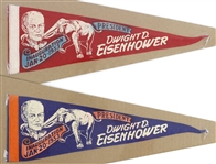 "1953 Dwight D. Eisenhower Inauguration 17"" Pennants"