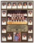 "1984 United States Olympic Basketball Team Gold Medalists 16""x 20"" Plaque"