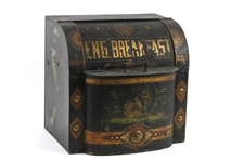 1900s-10s English Breakfast Painted Tin Box