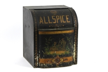 1900s-10s All Spice Painted Tin Box
