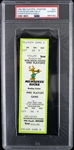 1990 Milwaukee Bucks NBA Play Offs Game D Full Phantom Ticket (PSA/DNA Slabbed)