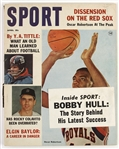 1964 (April) Sport Magazine w/ Oscar Robertson, Rocky Colavito & YA Tittle on Cover