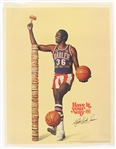 "1976 Meadowlark Lemon Harlem Globetrotters 18""x 23"" Burger King Poster"