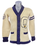 1949 GBL Champs Wm. Westland Athletic Equipment Quincy Mass Basketball Sweater