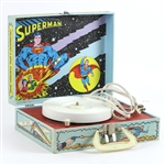 1978 Superman Portable Model SP19 Record Player
