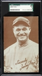 1939-1946 Jimmy Foxx Boston Red Sox Graded Exhibit Card (SGC40)