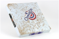 2014 Wrigley Field 100th Anniversary Game-Used Opening Day Base w/ MLB Authenticaton (MEARS LOA)