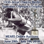 "1936 Jesse Owens Berlin Summer Olympics 10.5"" Trophy Presented by The Chicago Defender"