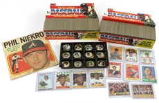 1950s-1970s Topps Trading Cards & Baseball Coins Including Willie McCovey, Lou Brock, Don Money and more (Lot of 1,100+)