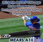 2016 Kris Bryant Chicago Cubs Homewood Professional Model Spring Training Bat (MEARS A10)