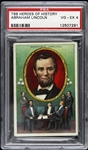 "1911 Abraham Lincoln T68 ""Heroes of History"" Royal Bengals Card (PSA/DNA Slabbed)"