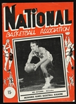 1951-1952 Milwaukee Hawks Basketball Magazine
