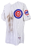 2002 Sammy Sosa Chicago Cubs All Star Game Worn Jersey (MEARS A10)