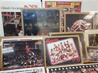 1980s-1990s Chicago Bulls Advertising Poster Lot of 20+