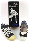 1970s Pistol Pete Maravich Keds Boys Size 3 Basketball Shoes w/ Original Box