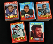 1971 Topps Football Trading Cards Complete Set (263/263)